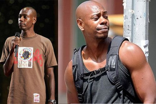Dave Chapelle jacked??... Jaleel White Muscles