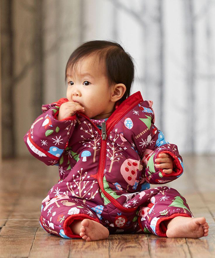 Tuta Termica Invernale Bosco Incantato|-|Abbigliamento Neonato e Bambini