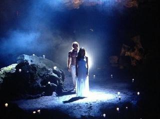William Levy graba escenas de pasión en La Tempestad.
