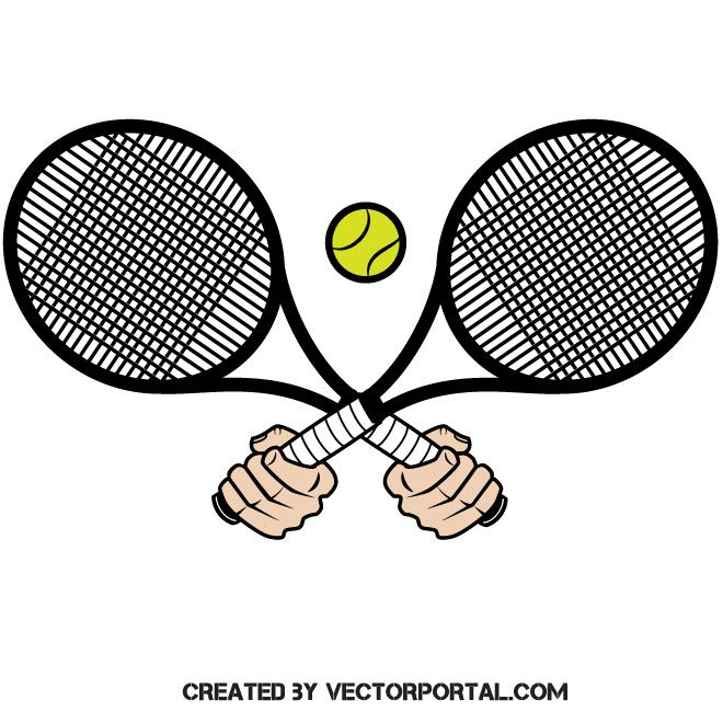 Tennis Rackets Vector Image Tennis Racket Rackets Tennis