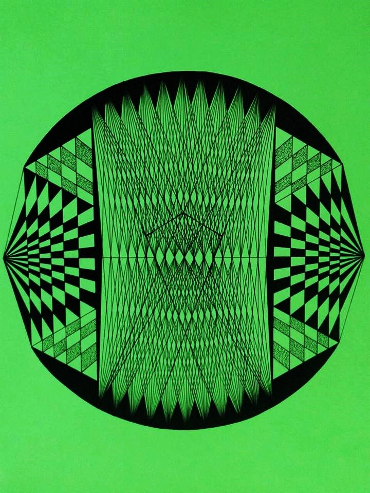 Land of possibilities #Graphic #Illustration #art #leinwerrit #sacredgeometry