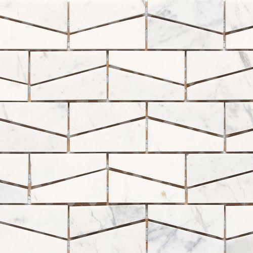 check out this daltile product stone au0027 la mod wedge polished contempo white m313 - Daltile Subway Tile
