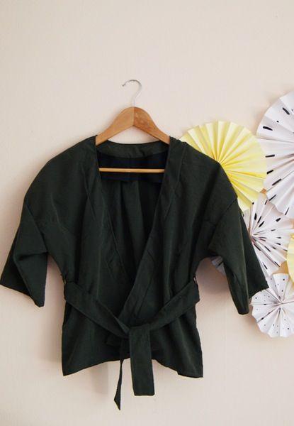 Image of Kit Couture - Kimono Marana - Version Kaki