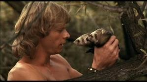Beastmaster - I had a H-U-G-E crush on Marc Singer...  My 12 year old hormones were in overdrive!!  I must have watched this movie at LEAST 500 times.  Seriously.