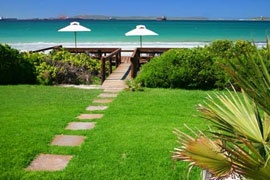 Blue Bay Lodge, Saldanha, Western Cape/ B and Self Catering. On the beach, many units or rooms. 150 km of Cape Town.