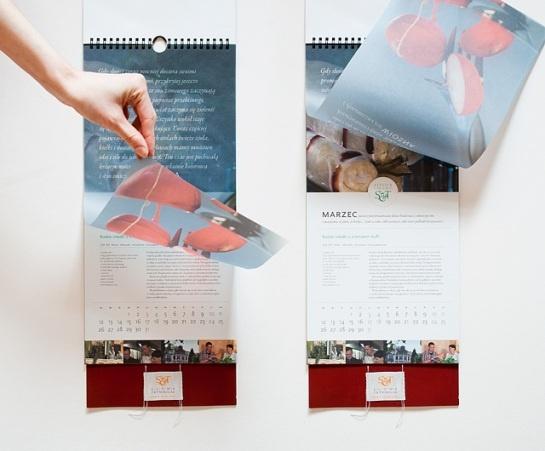 Tasteful calendar
