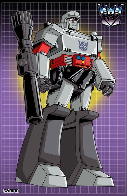 Transformers - Megatron by AJ Sabino