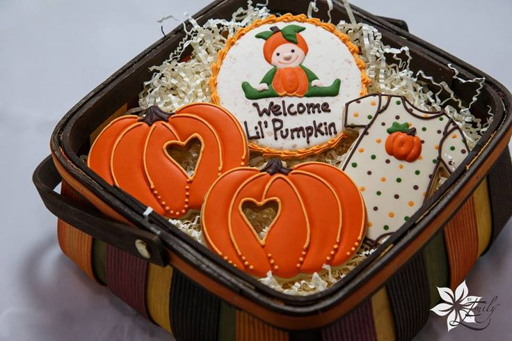 Welcome Lil Pumpkin cookies by Gorgeously Glutenless