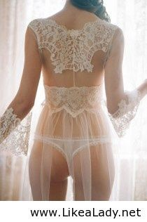 Honeymoon lingerie