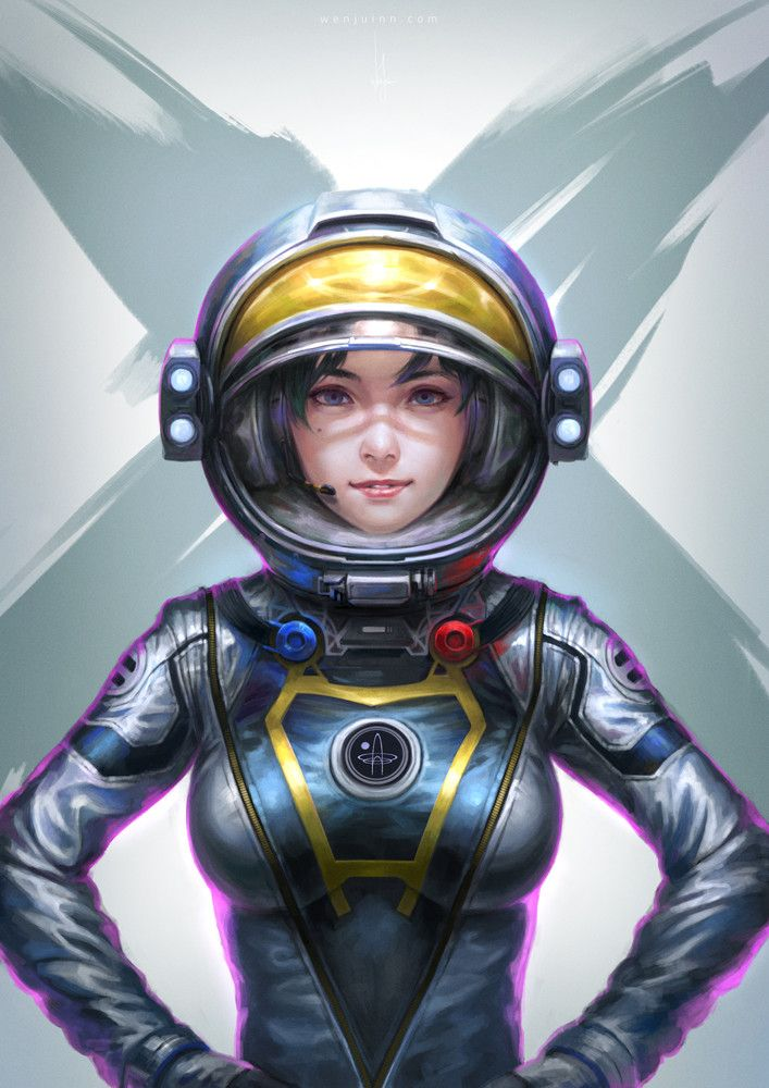 241 best female astronaut body suit images on pinterest for Female space suit