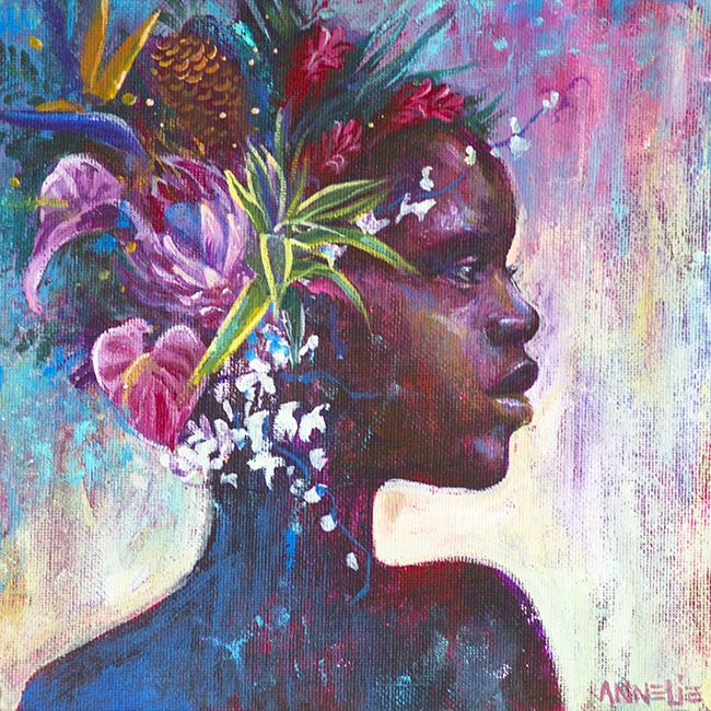Flower Girl by Annelie Solis
