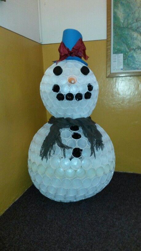 Kelímkový sněhulák