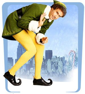 Buddy the Elf! What's your favorite color? @Karen Elizabeth it's almost time to start watching it!!