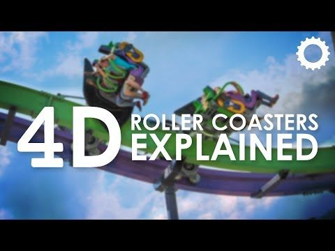 4D Roller Coasters: Explained - http://rollercoasterhq.net/4d-roller-coasters-explained/
