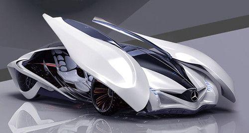 Dolphin Concept Car. Michelin design challenge 2013. Futuristic Car designed by Liu Shun, Gao Zhiqiang, and Chen Zhilei