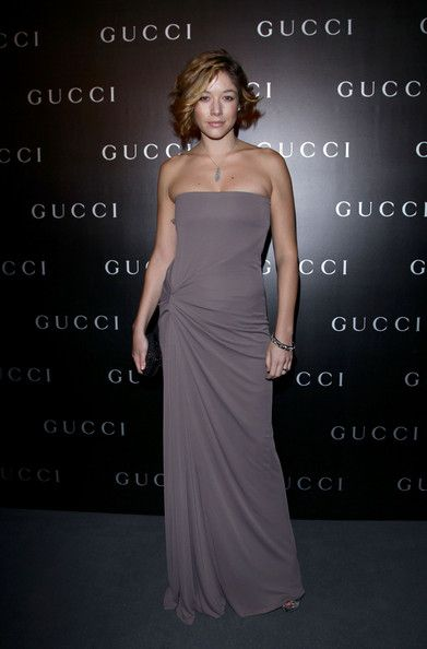 """Sarah Felberbaum Photos - (EXCLUSIVE COVERAGE) Sarah Felberbaum attends the World Restoration Premiere Of """"La Dolce Vita"""" Dinner Hosted by Gucci at the Hotel Cavalieri Hilton on October 30, 2010 in Rome, Italy. - Gucci Hosts Dinner For The World Restoration Premiere Of La Dolce Vita - Arrivals"""