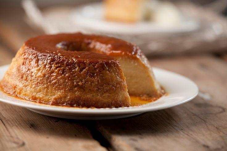 Budín de pan con crema - Maru Botana