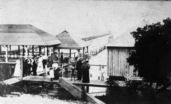 Public Bath House and Pier