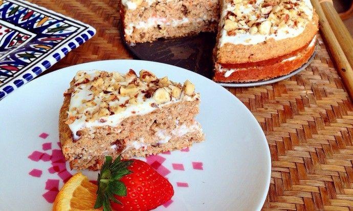 Nejrychlejší recept na výborný zdravý mrkvový dort