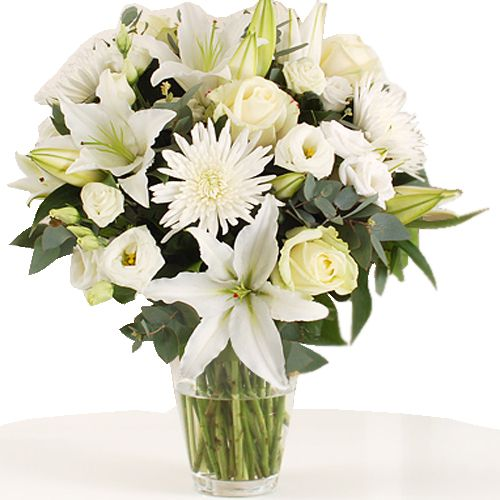 uk #Flowers - Blanche