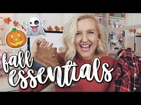 MY PREPPY FALL ESSENTIALS 2017  || Kellyprepster - YouTube