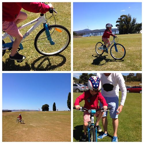 thirteenredshoes blogger gives us another insight into the adventures of her child learning to ride.