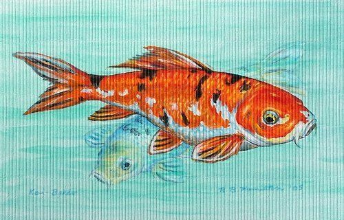 Betsy Drake DM117G Koi Door Mat 30x50 by Betsy Drake. $68.00. These floor mats are made of synthetic washable material that will stand up to years of wear with a. Design is stylish and innovative.. Measures 30x50.. Manufactured to the Highest Quality Available.. Satisfaction Ensured.. These floor mats are made of synthetic washable material that will stand up to years of wear with a non-slip rubber backing. Measures 30x50. Manufactured to the Highest Quality Available. Design is ...