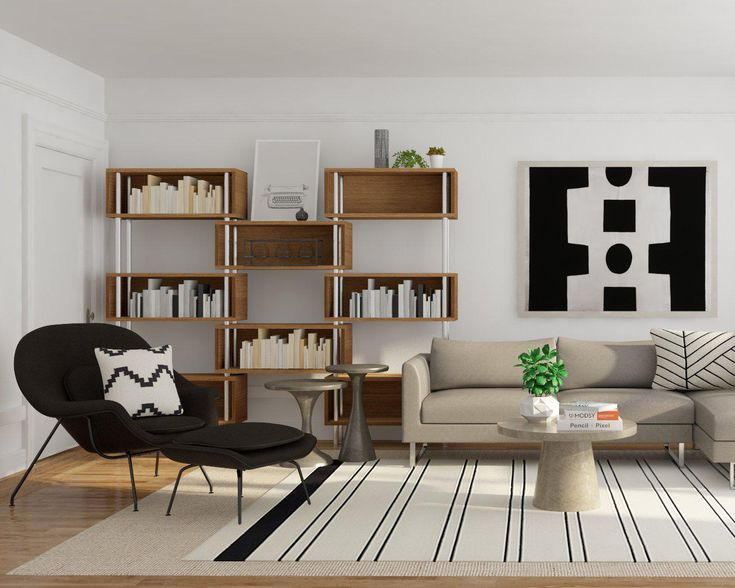 Modern And Minimal Living Room Inspiration