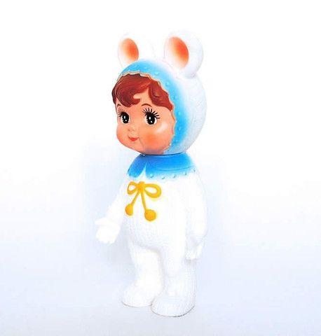 Woodland Doll - Snow Baby - Blue decor | Little Citizens Boutique