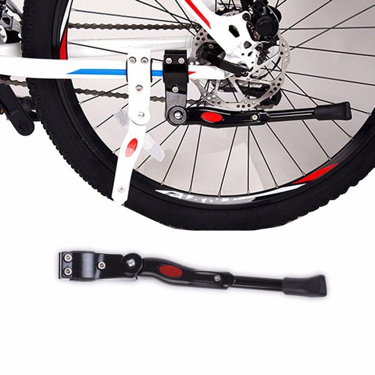 Bike Kickstand MTB Road Bike Bicycle Aluminium Side Support Foot Brace Kickstand Black