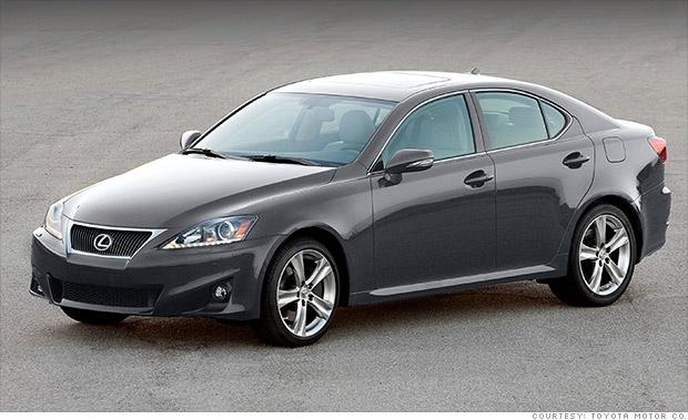 Lexus IS > Consumer Reports Best Resale Value (2012