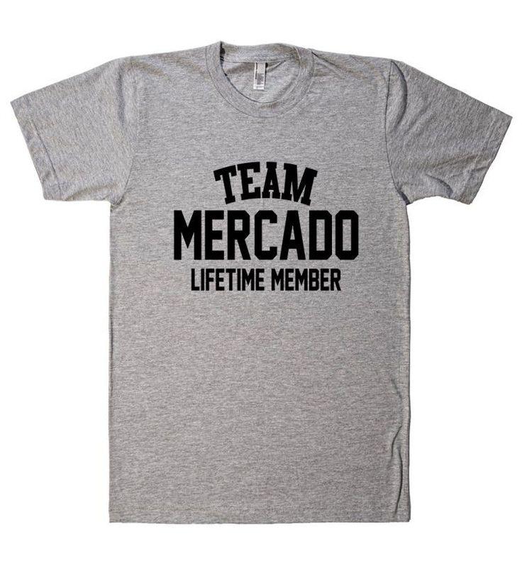 team name lifetime member t shirt mercado names t