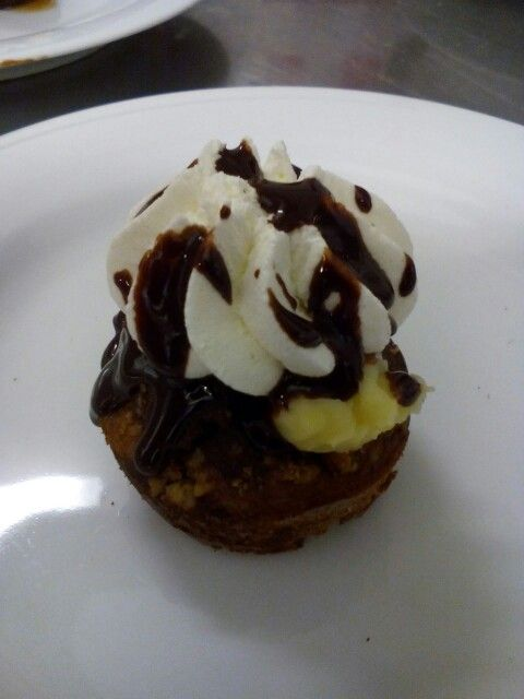 Somlói galuska muffin.