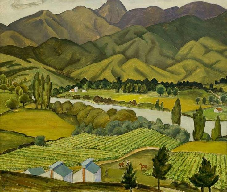 Tobacco fields, by Doris Lusk | NZHistory, New Zealand history online