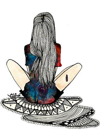 39 best Dibujos Hipsters images on Pinterest  Drawings Girl