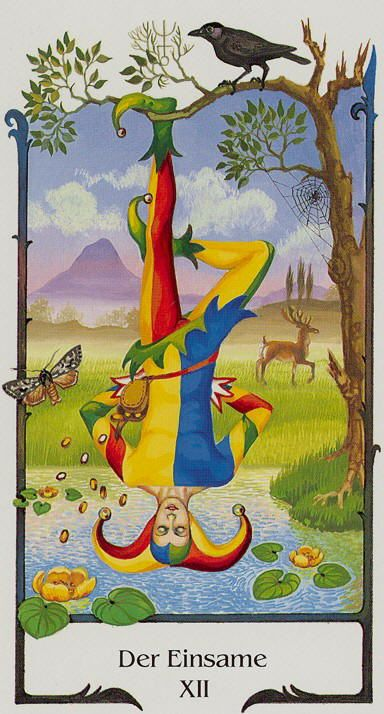 The Lone Man (The Hanged Man) - Tarot of the Old Path