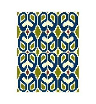 Valentine Variations Tapestry Crochet Chart by Marina G on Etsy