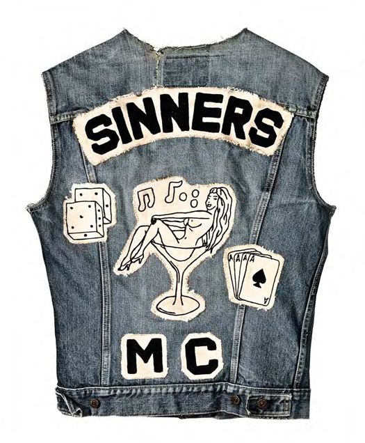Accidental Mysteries, 11.25.12: Motorcycle Club Cuts as American Folk Art