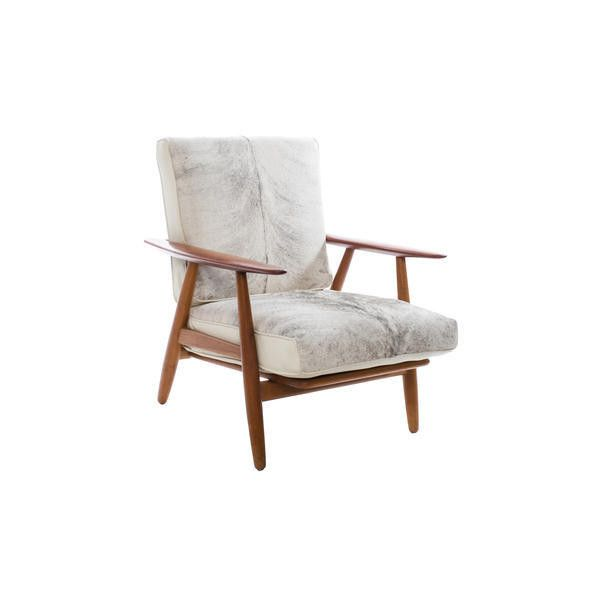 Pre-owned Hans Wegner Ponyhair Chair (177.545 RUB) ❤ liked on Polyvore featuring home, furniture, chairs, oversized chairs, oversized furniture, second hand chairs, antique white furniture and brown's furniture