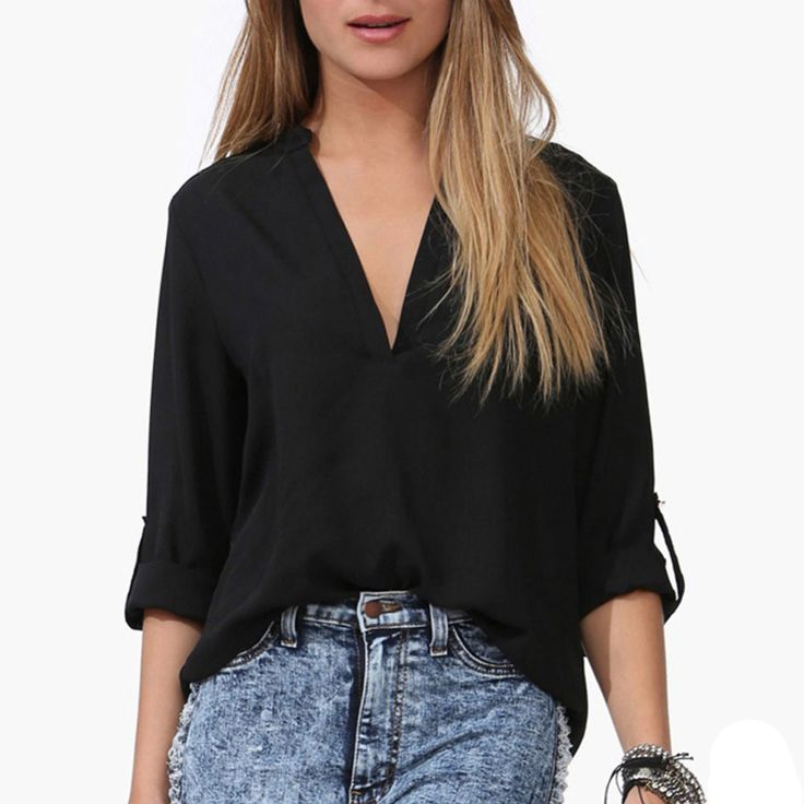 Cheap shirt box, Buy Quality shirts good directly from China shirt leather Suppliers:    2015 New Women Fashion Sexy Lace Patchwork Blouse Ol Casual V Neck Long Sleeve Chiffon Shirt Pink White WF-9313