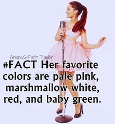 ariana grande facts - Google Search