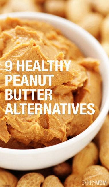 9 healthy peanut butter alternatives!