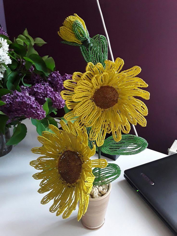 #sunflower #bead