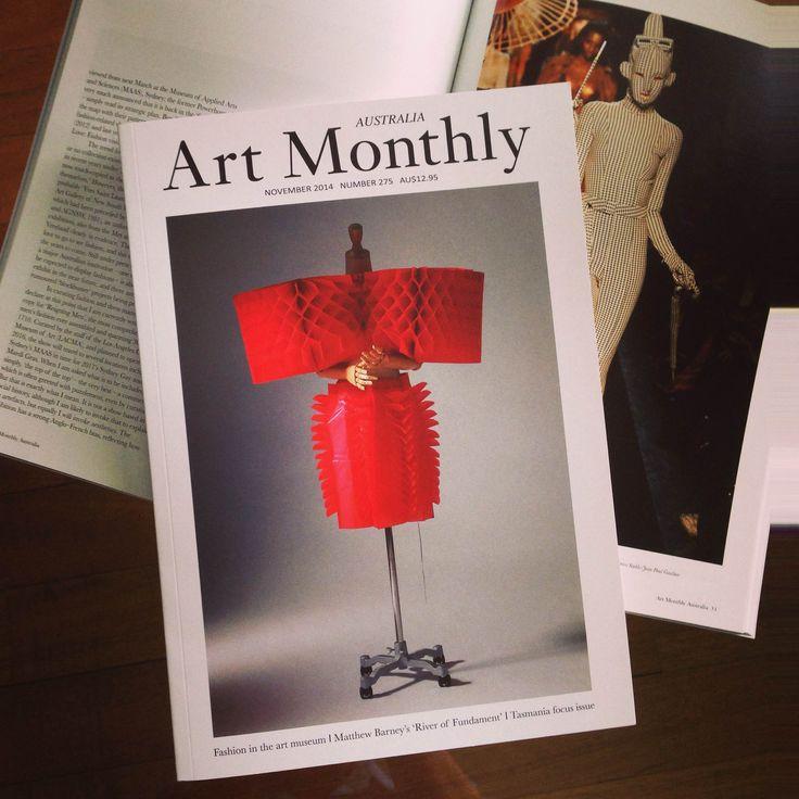 Art Monthly Australia Magazine November 2014, Number 275