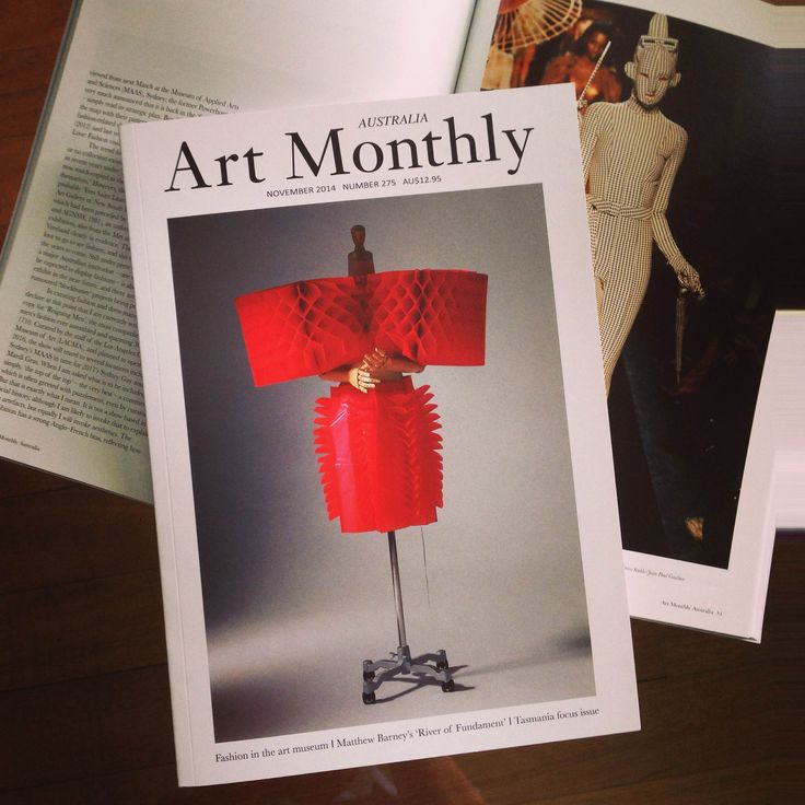 Art Monthly Australia Magazine November 2014, Number 275