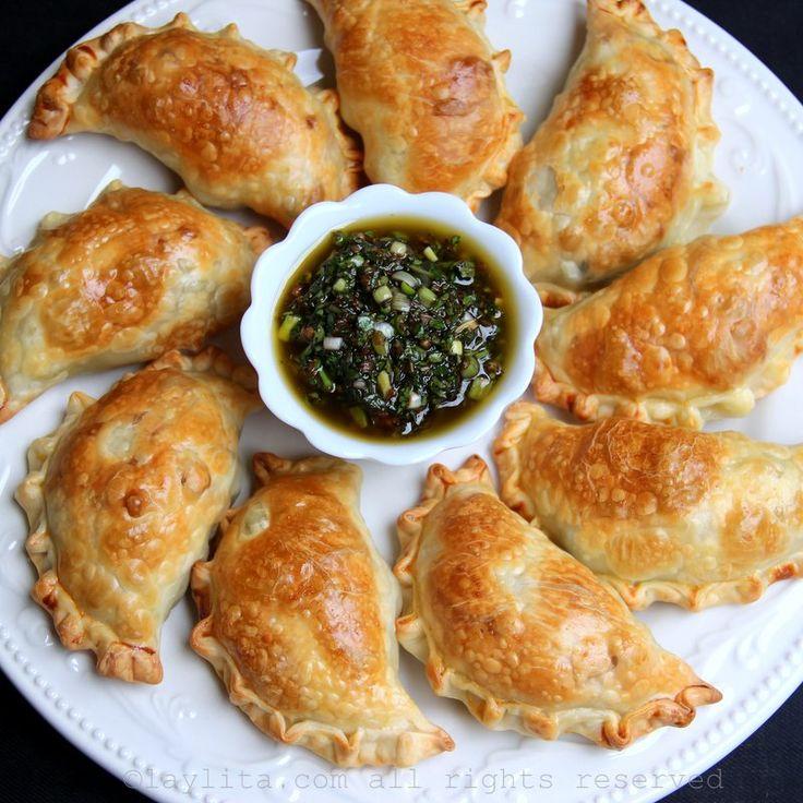 Empanadas de aspargos receita