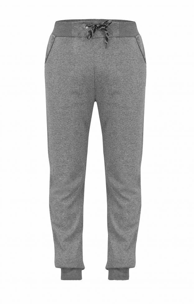Ανδρικό παντελόνι φόρμας μελανζέ FORM-1006 | Φόρμες Αθλητικές >