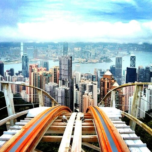 Victoria Peak , Hong Kong