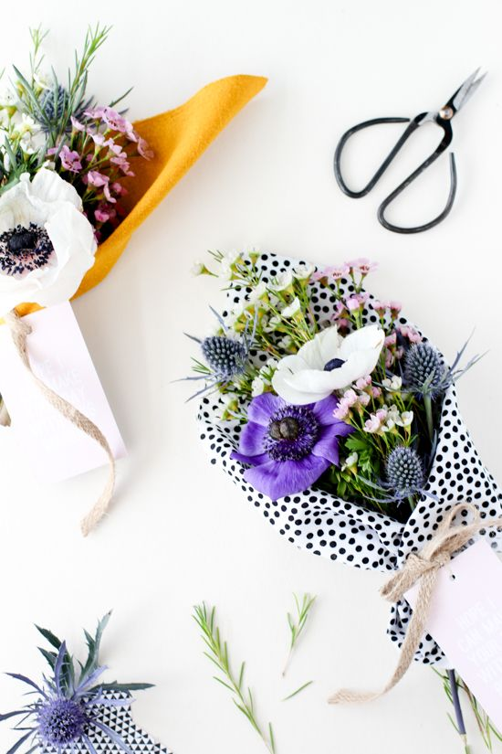 DIY to Try // 'Make Your Day' Bouquet