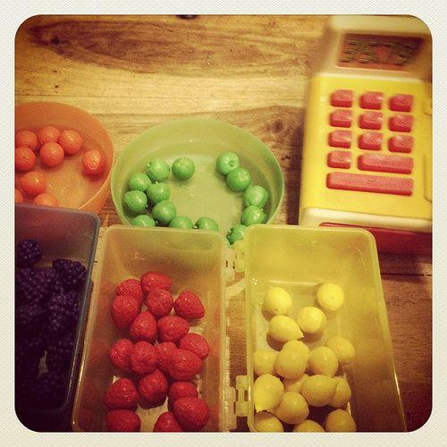 Early numeracy ideas